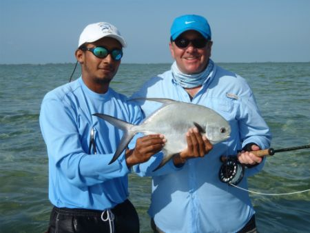 fly fishing ascension bay permit