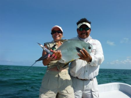 fly fishing permit punta allen