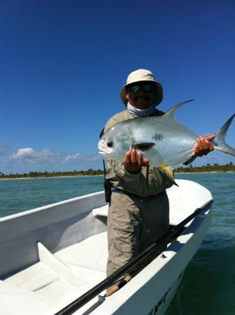 fly fishing permit lodge punta allen mexico