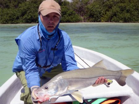 ascension bay fly fishing snook