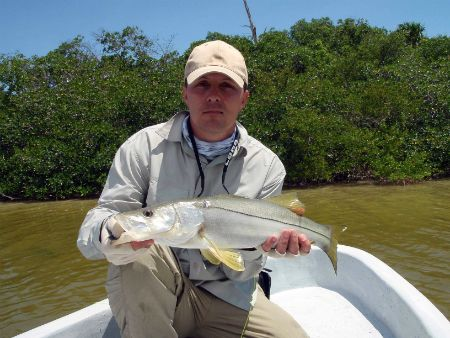 fly fishing lodge mexico snook
