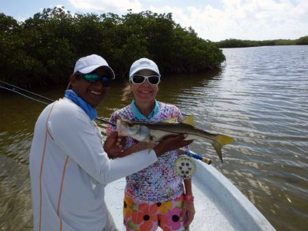 ascension bay fly fishing lodge