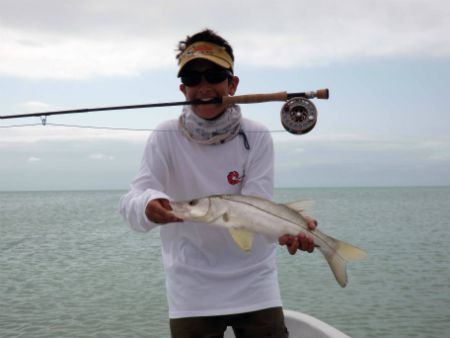 mexico fly fishing lodge snook