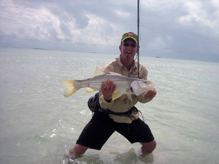 snook fly fishing ascension bay mexico
