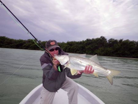 fly fishing ascension bay snook
