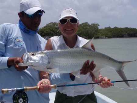 punta allen mexico fly fishing lodge